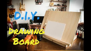 DIY Drawing Board / Art Easel