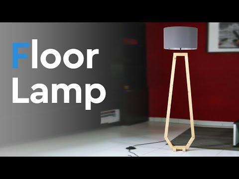 Floor Lamp building | FREE PLAN  included