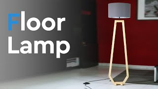 Floor Lamp building | FREE PLAN  included