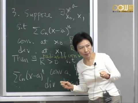 Lec15 高等微積分(一) 第三章 Numerical Sequences and Series