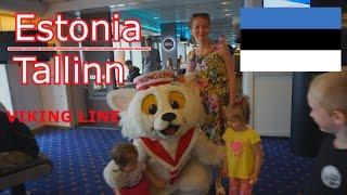 Таллин Эстония Tallinn Estonia Круиз на корабле