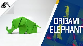 Origami - How To Make An Origami Elephant