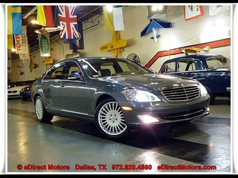 2007 Mercedes Benz S550 Edirect Motors Youtube