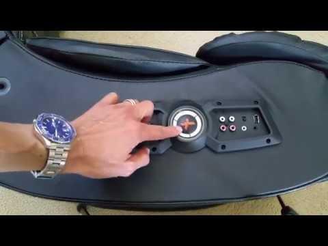 Unboxing XROCKER X-PRO Bluetooth Speakers Gaming Chair Full HD 2016