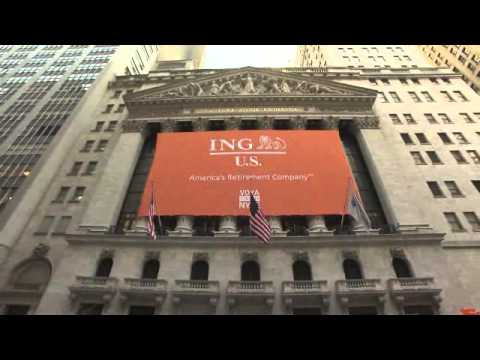 "ING U.S. debuts on the NYSE under the ticker symbol ""VOYA"""