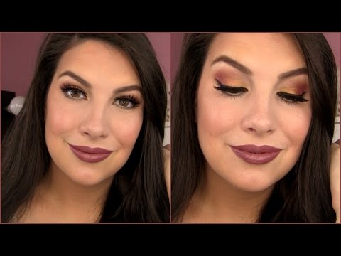 MAKEUP PLAYTIME! Trying New Stuff. Autumn Glam! thumbnail