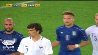 Italy 2-0 Finland - (Friendly) Goals