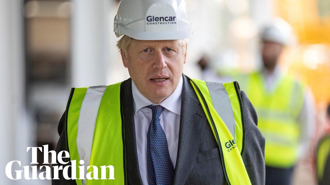 Coronavirus 'second wave coming in' to UK says Boris Johnson