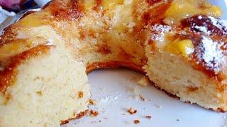 si tienes 3 manzanas 🍎🍏🍎 y 3 huevos....haz en 5 MINUTOS el MEJOR pastel de manzana!!