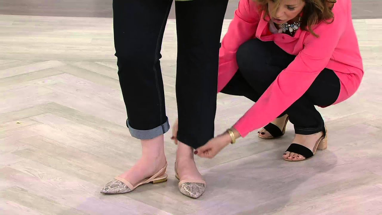 Susan Graver Weekend Knit Jeggings With Contrast Stitching On Qvc
