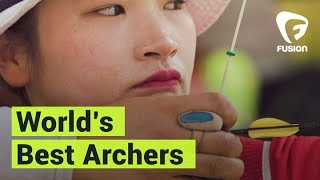 South Korean Female Archers Are The Best in the World