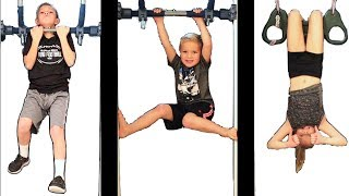 Kids EXERCISE and Winter Workout Routine 💪🏽😎