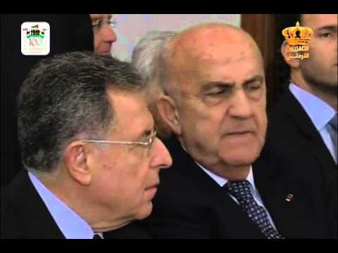 English News at ten in Jordan Television 22-02-2016