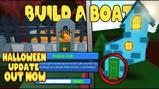 *HALLOWEEN* UPDATE (OUT NOW) BUILD A BOAT FOR TREASURE ROBLOX