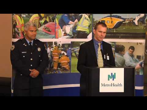 Aurora Fire Dept  Recognized for Treatment of Collapsed Jogger (MetroHealth  System)