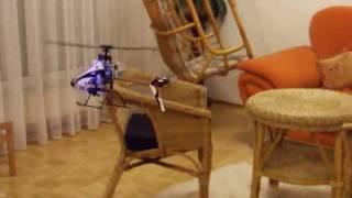 Helicopter Blade msr x, Parcours im Wohnzimmer (Hindernisflug)