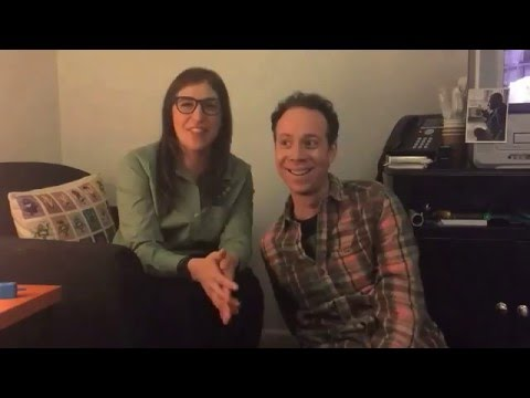 3 Questions with Kevin Sussman & Mayim Bialik