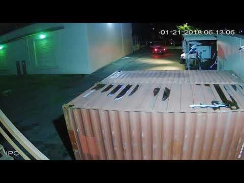 Unknown people stealing SULLIVAN ELECTRIC LLC work trailer