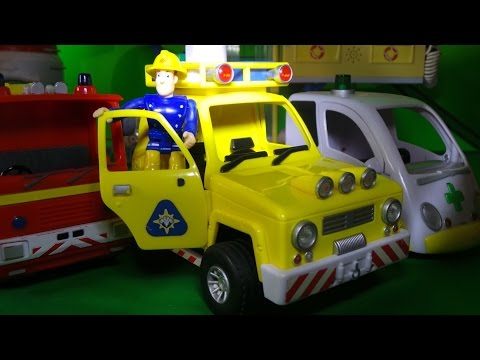 TOP 5 FIREFIGHTER FIREMAN SAM VEHICLES with JUPITER, HELICOPTER, Mountain Rescue and VENUS