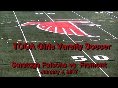 Saratoga vs Fremont - 1/03/2017 - Girls Varsity Soccer