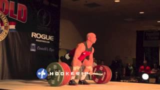 Krzysztof Zwarycz - 155kg Snatch & 197kg Clean Slow Motion