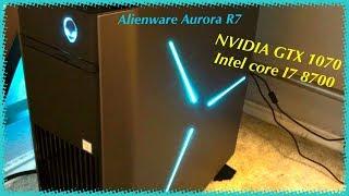 Alienware R7 -  i7 8700, GTX 1070   Fortnite gameplay