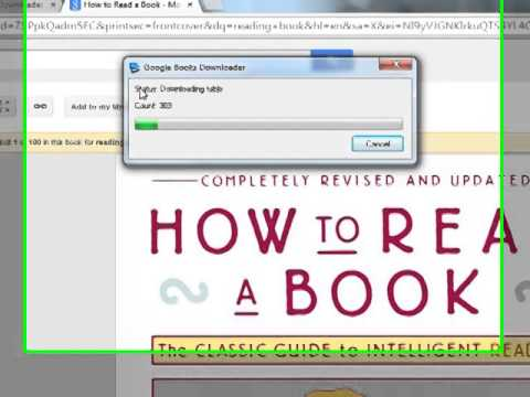 how to use google book downloader