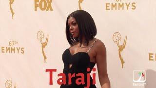 EMMYs Red Carpet Fashion - Taraji P. Henson