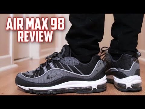 Nike Air Max 98 Men´s Officiel Basket 2019 Shoes Black
