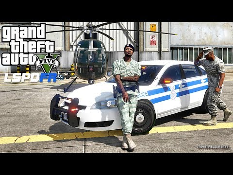 LSPDFR #613 MILITARY PATROL!! (GTA 5 REAL LIFE PC MOD)