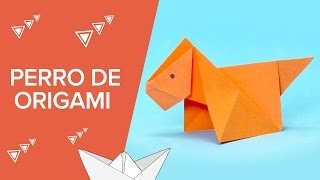 Perro de papel | Origami fácil para niños