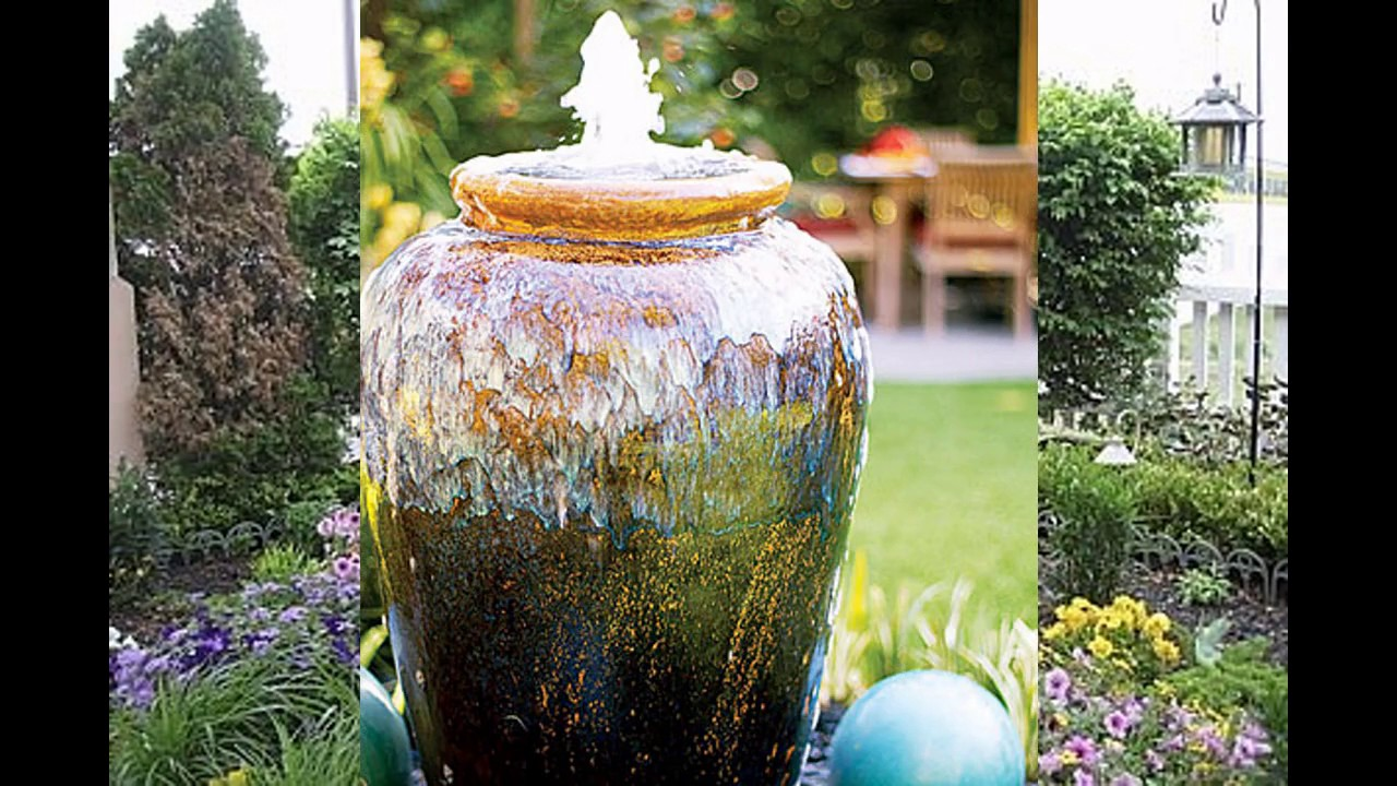 Garden Fountain Ideas