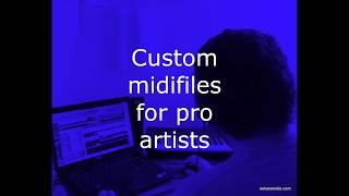 Custom Midi files - Soul RnB - Pro quality for pro artists -nelsonMidis.com