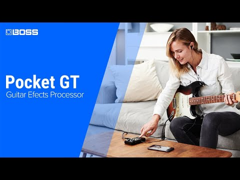BOSS Pocket GT - The Future of Learning Guitar