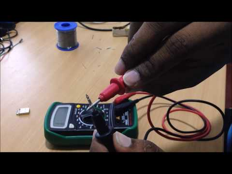 Usb Charging Cable Wiring Diagram Ac Cycle Diy Male To Connector - Youtube