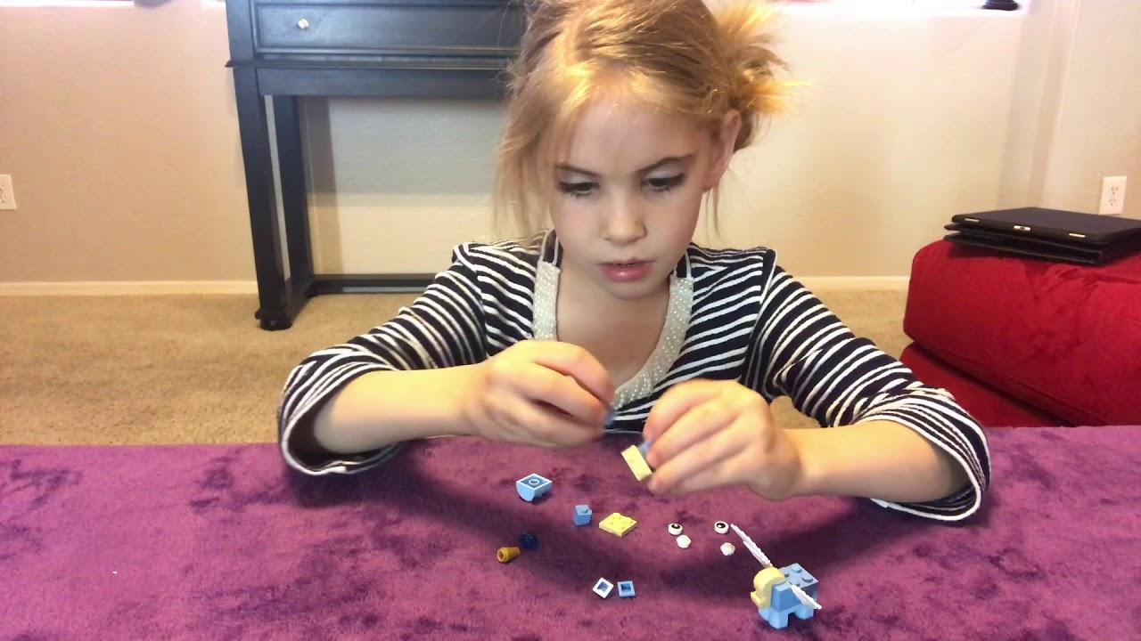 How To Build A Lego Unicorn With Capri - YouTube