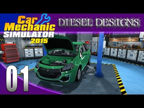 Car Mechanic Simulator 2015: Let's Play: EP01: Fixing Brakes and Oil Changes! (60FPS)