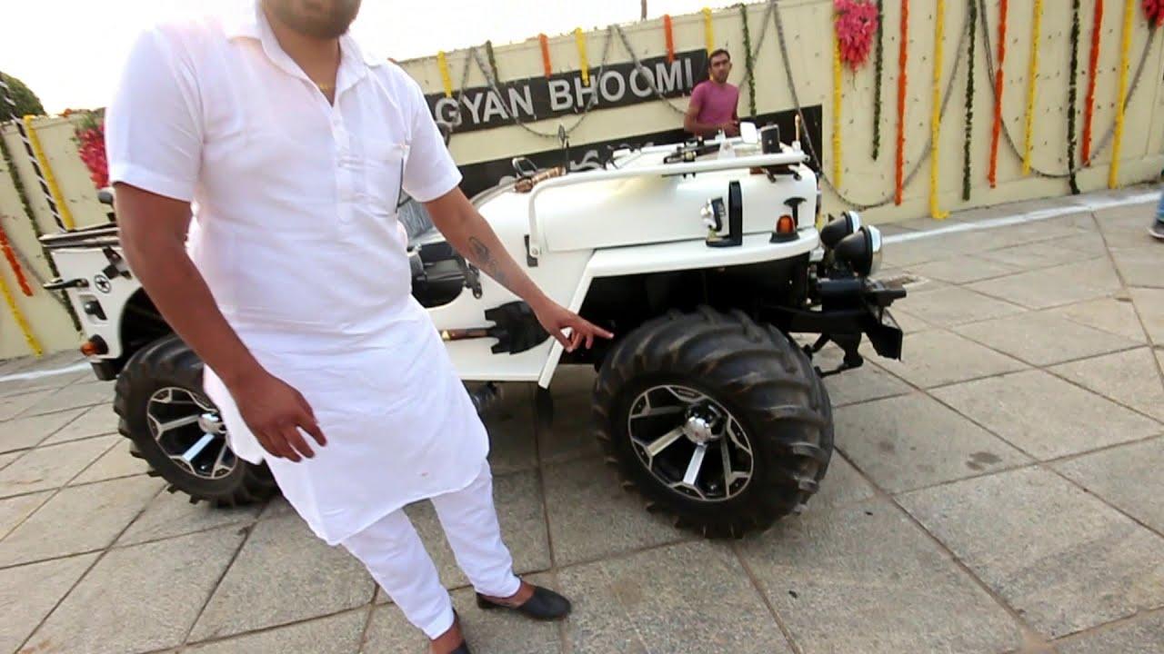 Modified 4x4 hunter jeep by Ankita Modified jeep's PH  No:- 9966660373