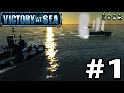 Let`s Play Victory At Sea Pacific Campaign Gameplay Part 1