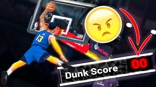 I am done with this game ... 😤 ... rigged judges in Slam Dunk contest! - NBA 2K19 MyCAREER #23 Video