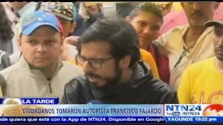 oposicin y oficialismo tomaron las calles de venezuela este jueves santo