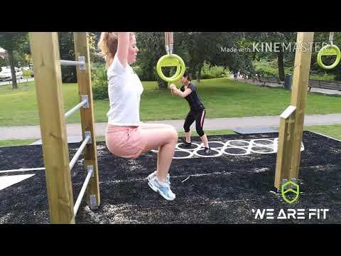Oudoor fitness Melanchtonpark Rotterdam