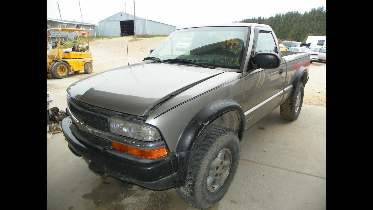 Mx15407 1999 chevrolet s10 zr2 4wd 43 automatic 150000miles elmers mx15407 1999 chevrolet s10 zr2 4wd 43 automatic 150000miles elmers auto salvage sciox Image collections