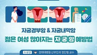 자궁경부암 & 자궁내막암 젊은 여성 많아지는 '…