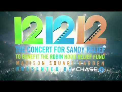 12 12 12 The Concert for Sandy Relief CD TV Commercial