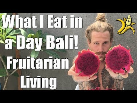 What I eat in a Day in Bali | Fruitarian Living