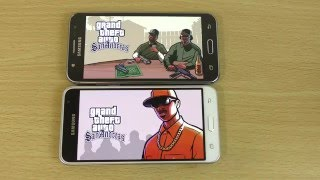 Samsung Galaxy J3 2016 vs Galaxy J5 - Gaming Comparison!