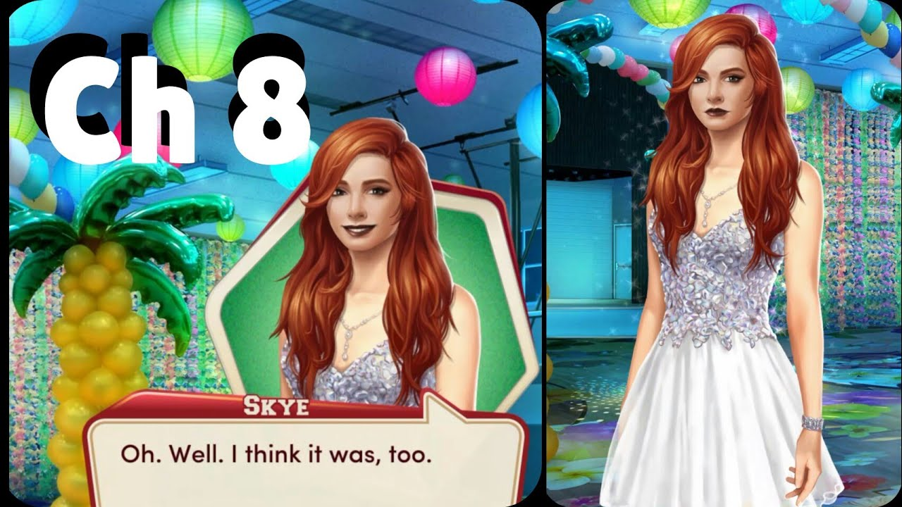 Choices // High School Story: Class Act // Chapter 8 Dance w/Skye // Diamond Clip image