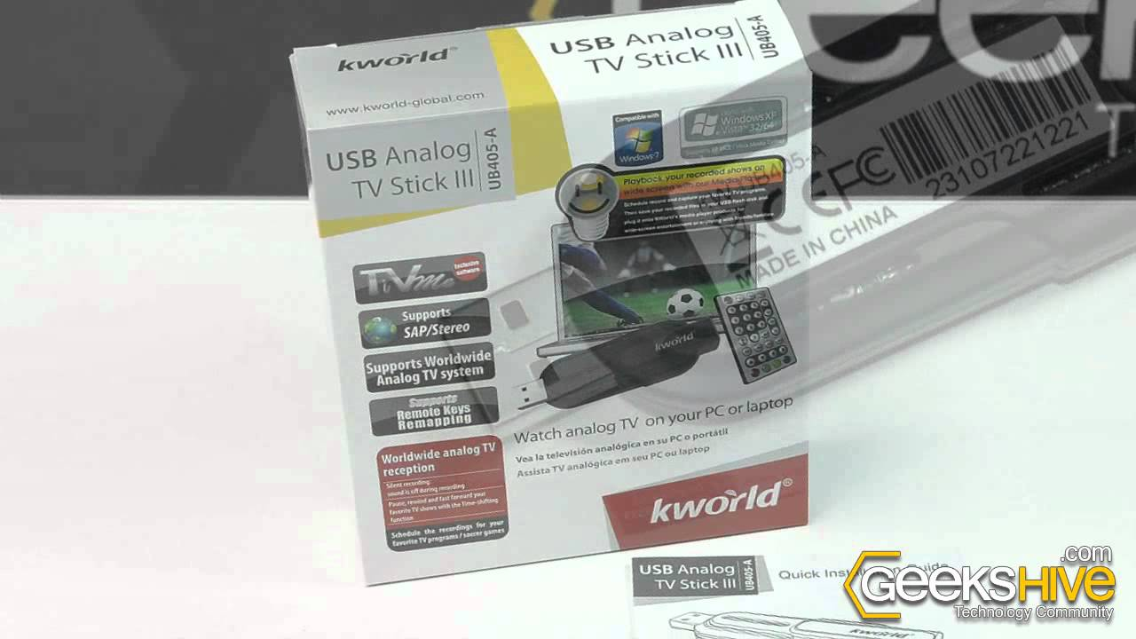 KWORLD UB406-A TV STICK REMOTE CONTROL DRIVERS FOR MAC