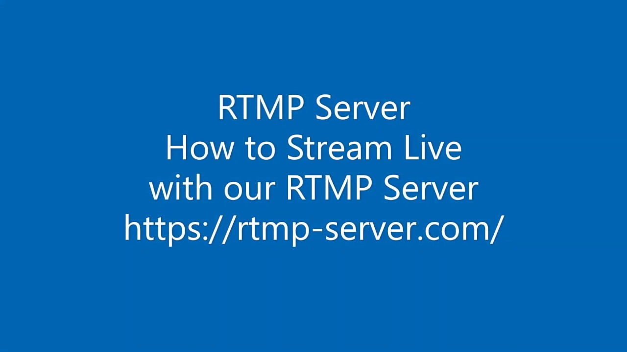 Live Streaming How it works with our Control Panel